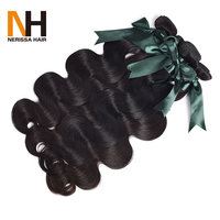 Wholesale factory price 7A 8A human hair extension Peruvian virgin hair 8 to 30 inch body wave Indian human hair