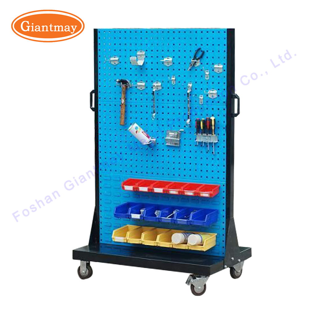 Small pegboard tool hloder display faucet hardware exhibits furniture stand and rack for hardware store
