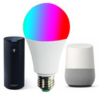 bluetooth light bulb for google assstant 100-240v dimmable color CCT first class 270 degree bluetooth led light bulb