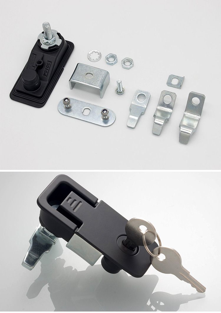 electronic cabinet lock Hengzhu MS106-1 switchgear parts  push button cabinet panel compression lock