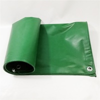 The Waterproof Pvc Vinyl Tarp Cargo Utility Trailer Cover green tarpaulin