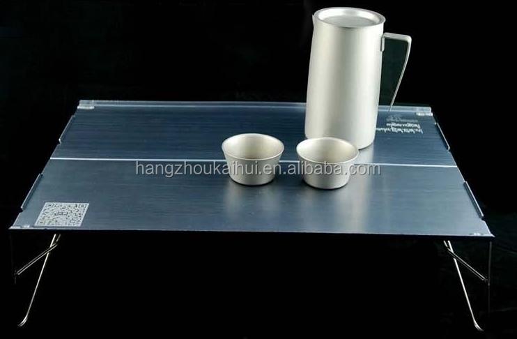 2015 Most Portable Aluminium Folding Mini Camping Table From ...