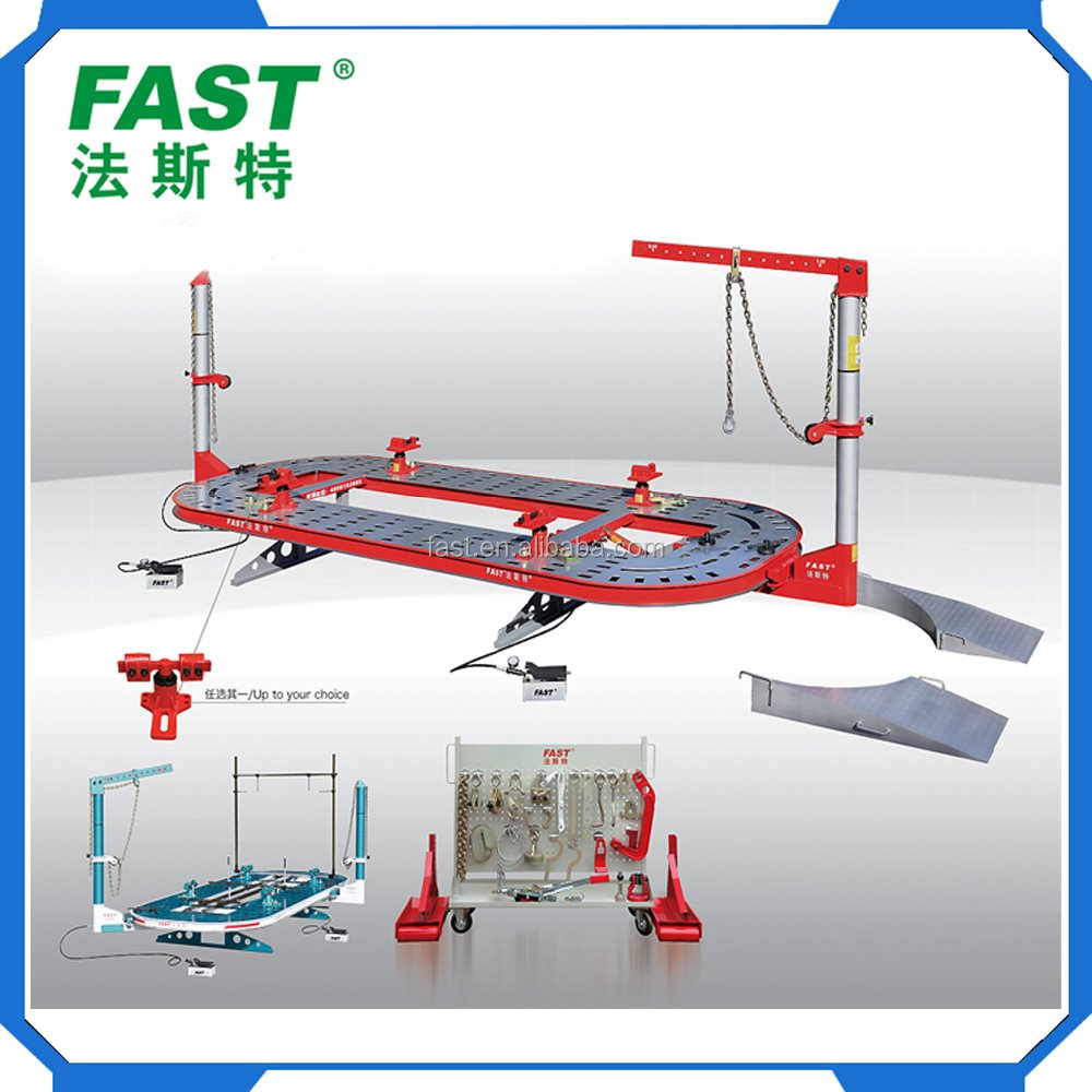 FA4 with 95 KN Puling CE Certified Auto Body Frame Machine/ car bench/ car body repair tools