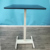 Single leg height adjustable resting desk coffee table support custom tabletop 80*52cm