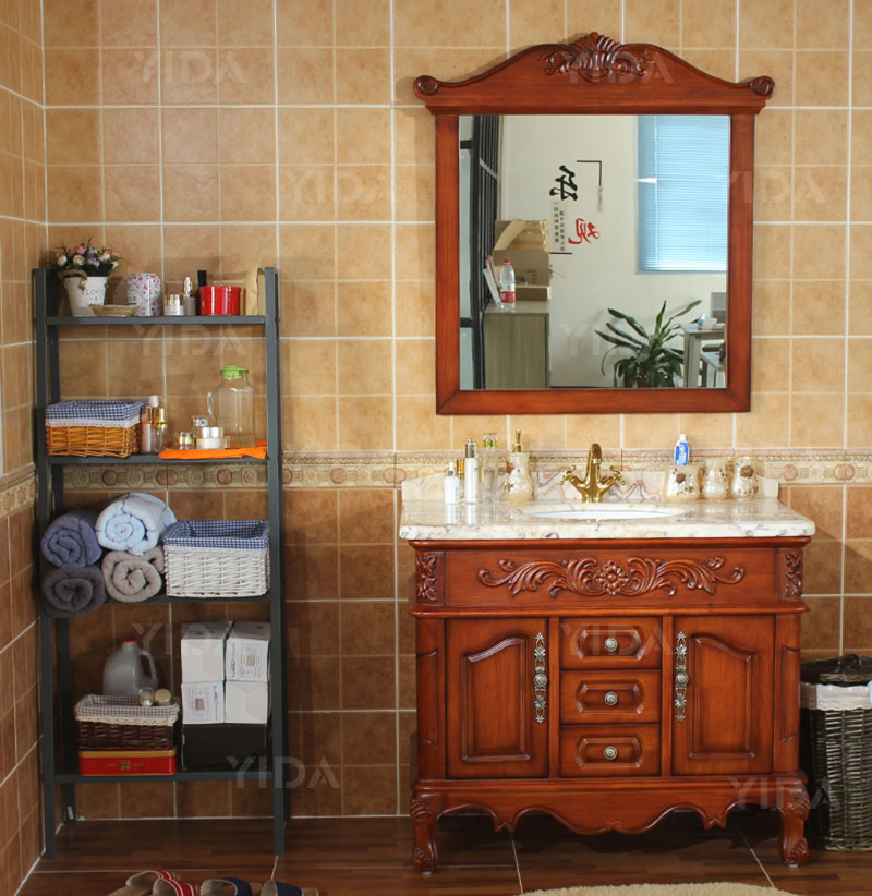 Antique Style Bathroom Furniture Red Bathroom Vanity Units ...