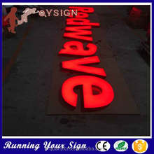 Optional high brightness Acrylic words in led lights