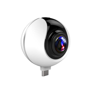 2018 New product Hight quality Camera 360 For Smart Phone Double Lens IP Camera Wifi