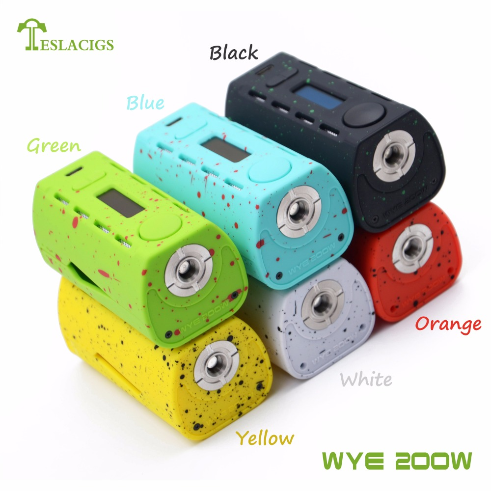 hot-sale WYE 200W vape mod with Summer vacation style from teslacigs factory