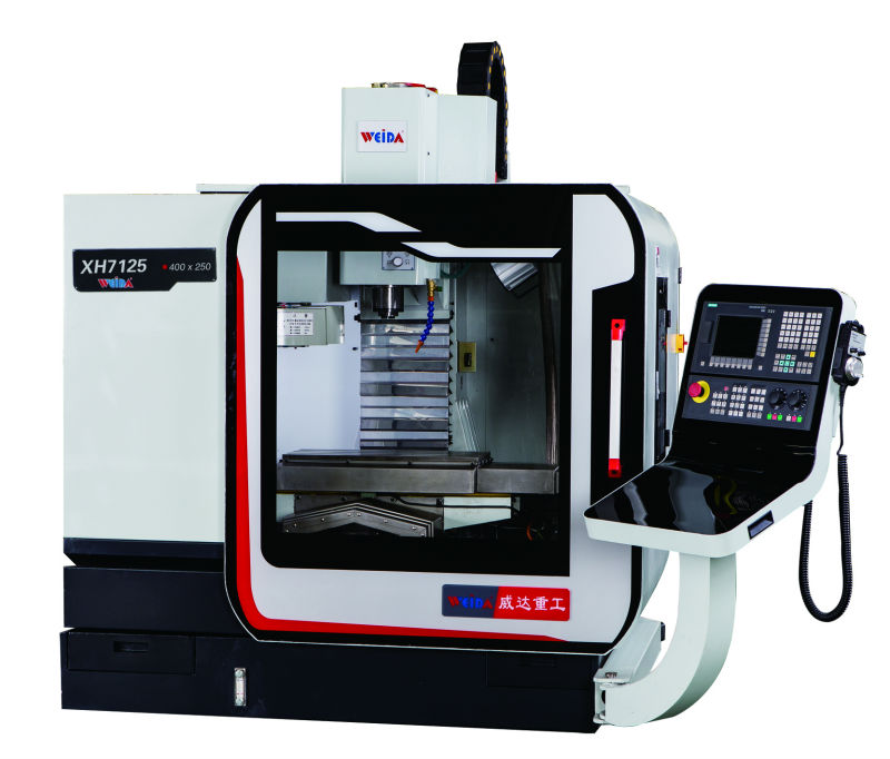 low cost mini CNC Vertical Machining Center XH7125, mini cnc machine  center, View min cnc vertical machining center, WEIDA Product Details from