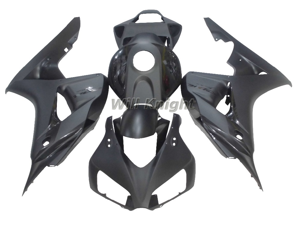 Glossy Matte Black Body Fairing for Honda CBR1000RR CBR 1000RR 2006 2007