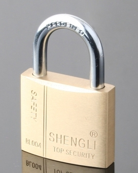 2015 Best-sale Solid Mid-heavy Duty Brass Padlock With Normal ...