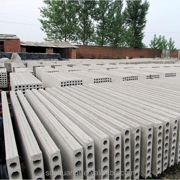 Precast concrete bungalow partition wall panels forming for Foam concrete forms cost