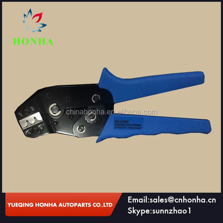 Sn-01bm Mini Crimping Plier Crimper For Awg 28-20 D-sub Terminals ...