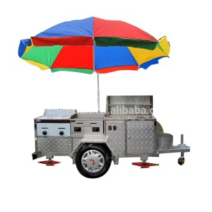 JX-HS200c Customized mobile ice cream food cart juice stall/mobile food cart