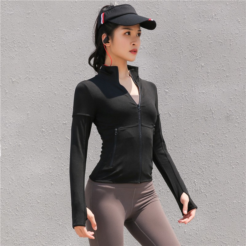 New Stitching Style Slim Autumn And Winter Yoga Clothes 9