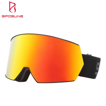 High-end UV Protective Anti Fog Snowing Glasses Impact Resistant Ski Googles For Sport