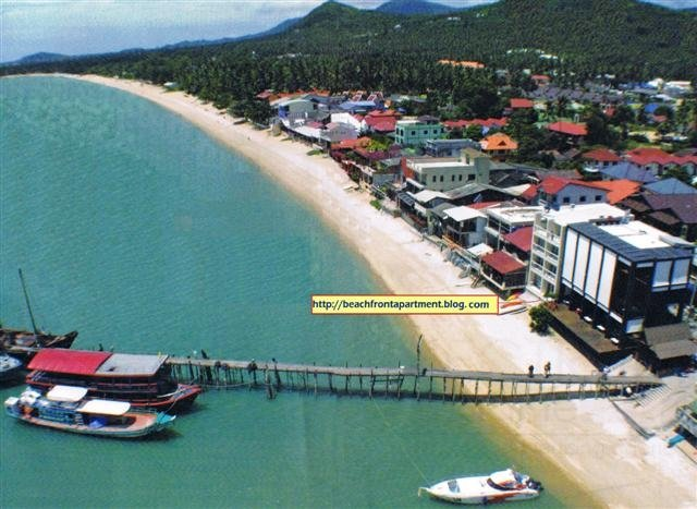 Lease 23 years a beachfront retail home in koh samui Thailand