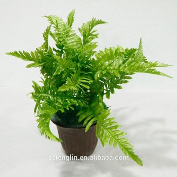 top quality artificial boston fern foliage plant decorative