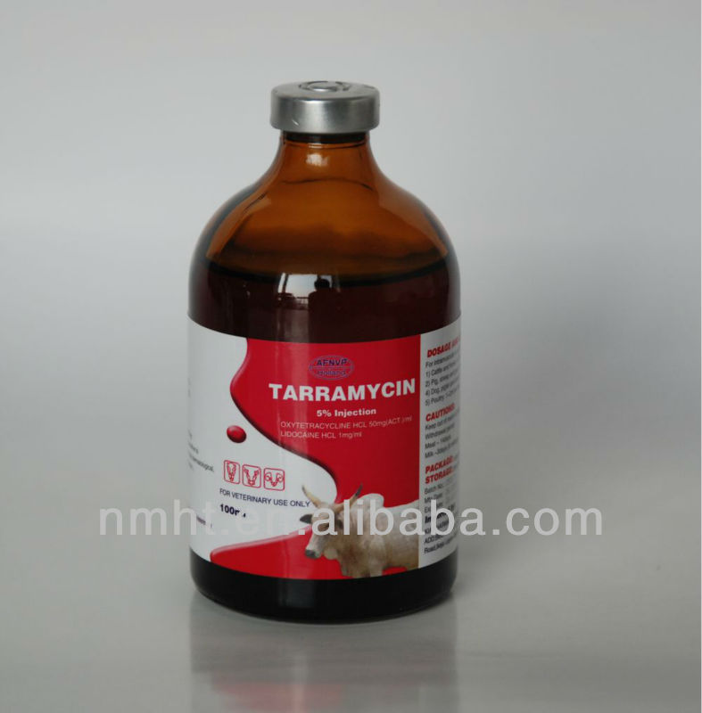veterinary medicine long acting oxytetracyclin injection