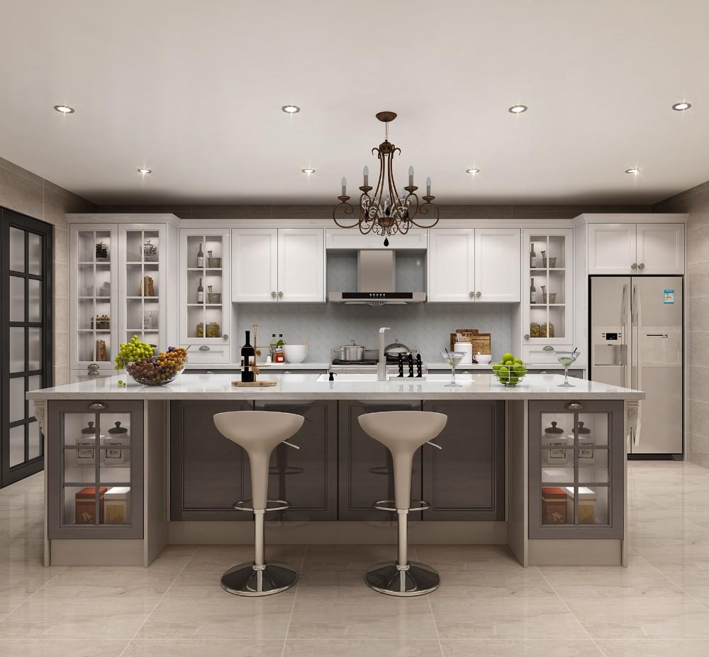 Wood Veneer Door Factory Direct Kitchen Cabinets/high ...
