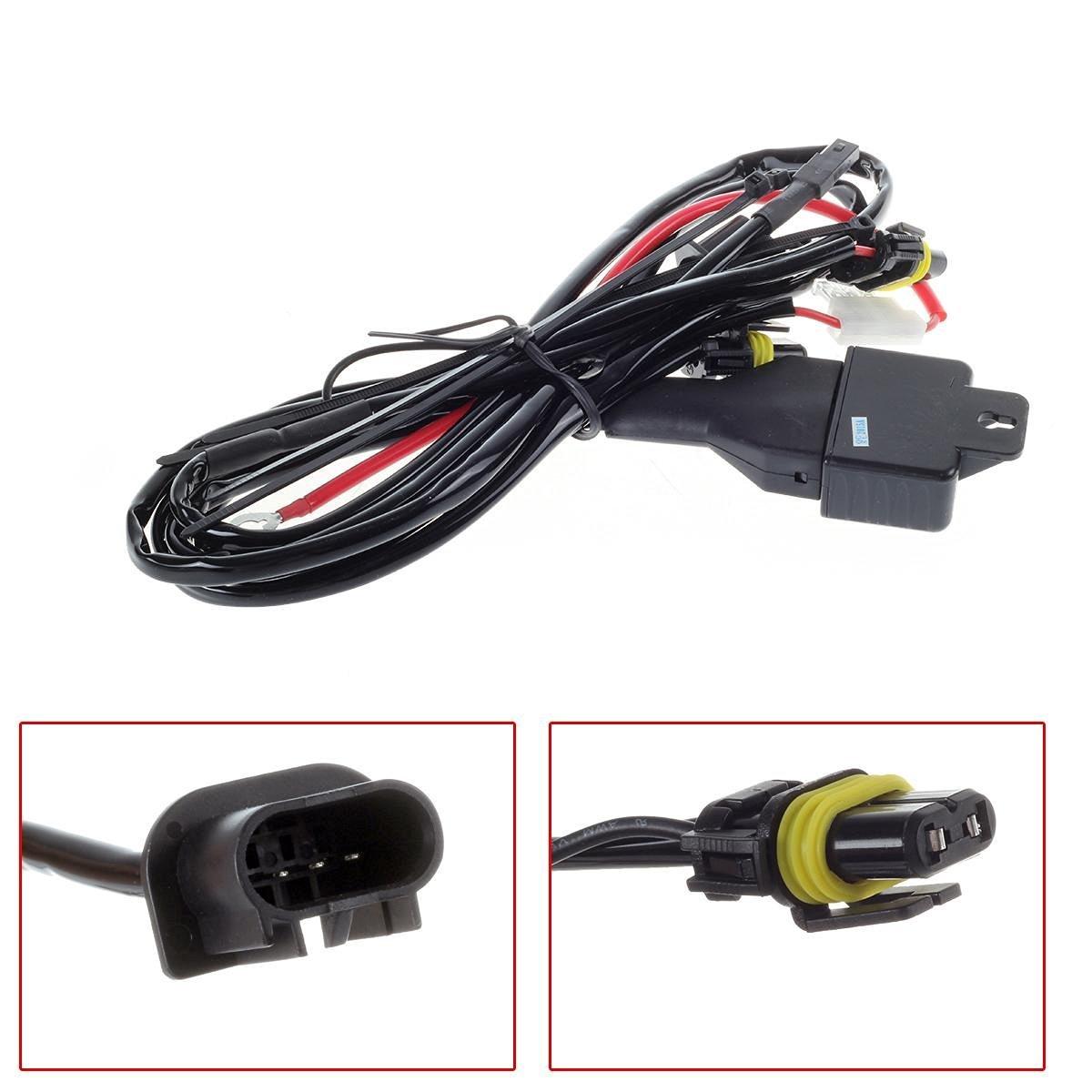 Buy PartsSquare 1pcs H13/9008 Car Bi-Xenon Hi/Lo HID Kit ... on
