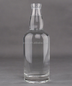125ml / 375ml / 500ml / 700ml oyulmuş votka cam bottle_whiskey bottles_rum kapaklı şişe