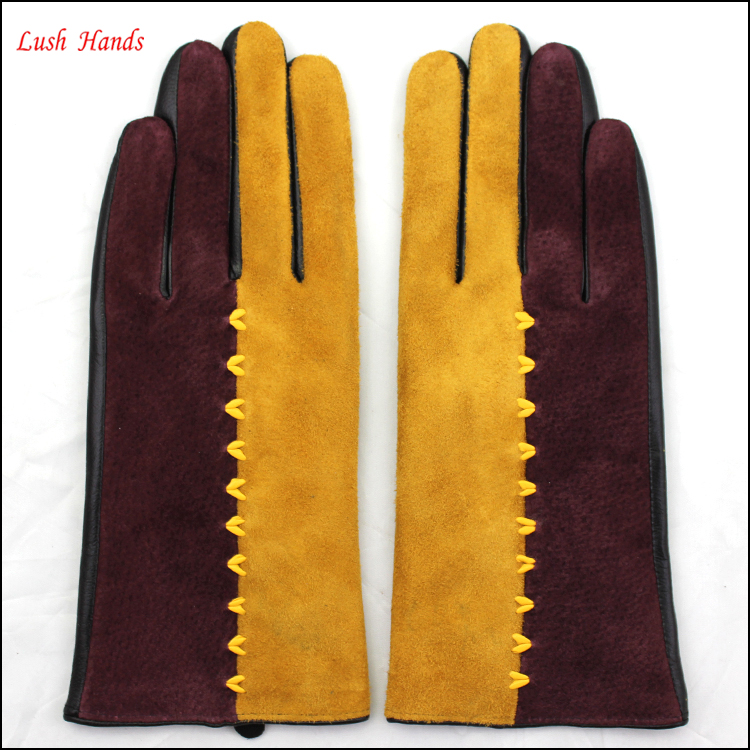 wholesale leather glove fashion dress industiral leather gloves women