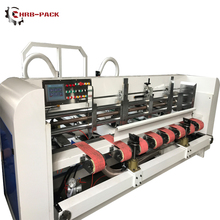 Automatic Carton Folding And Gluing Machine