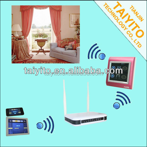 TAIYITO hot selling Z-wave zigbee home automation system for led lamp X10 plc Zigbee home automation