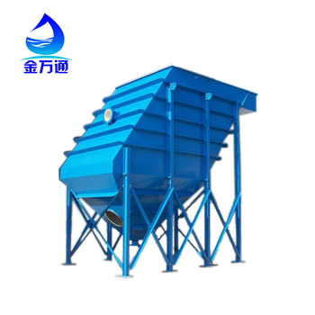 High rate lamella clarifier for waste water treatment