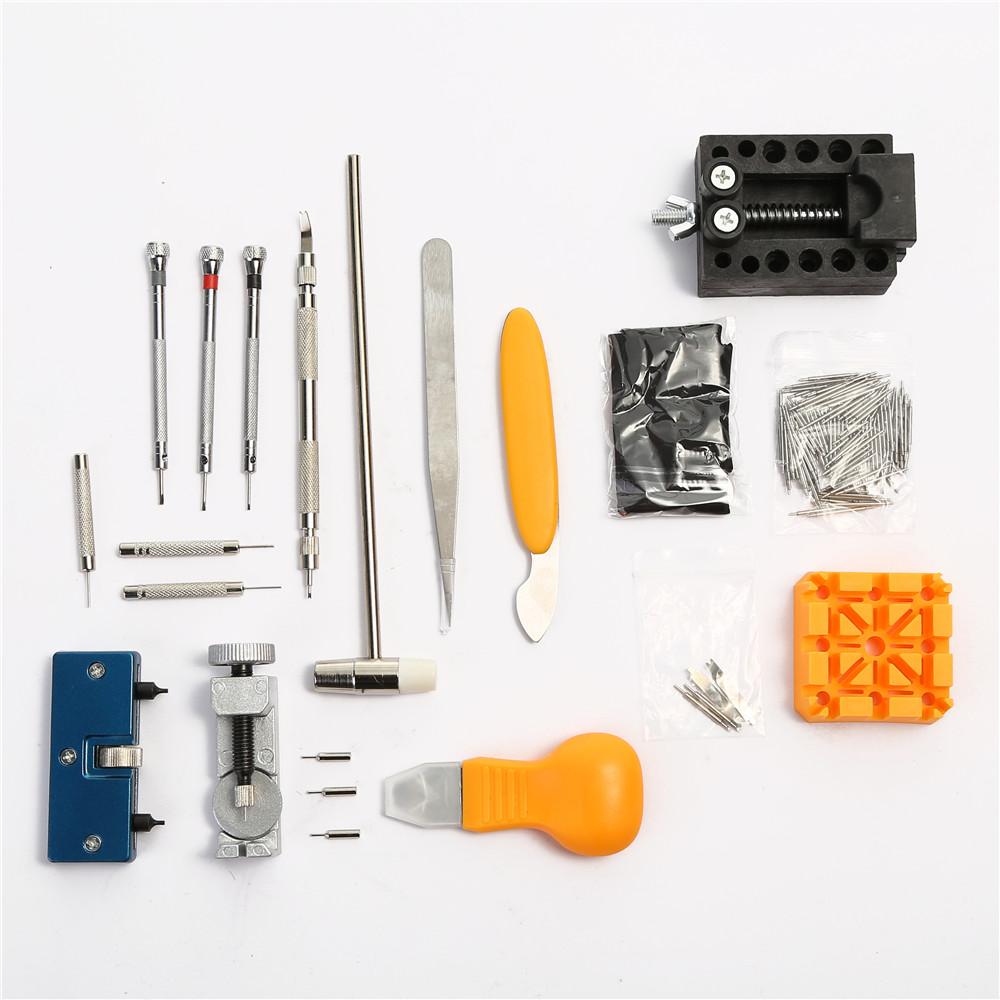 4c07b0fa8 Ver herramienta de mantenimiento reloj banda Correa enlace Pin Remover Kit de  herramienta de la reparación