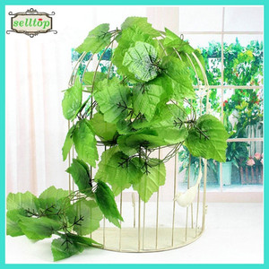 220cm plastic artificial grape vines