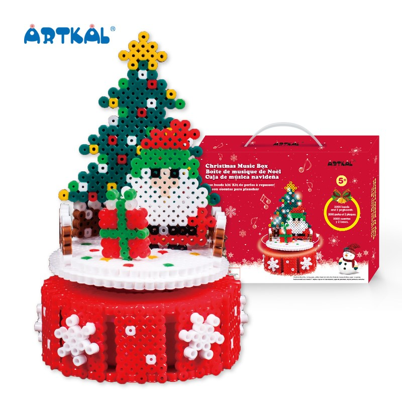 Christmas Hama Bead Designs.Artkal Gifts Christmas Perler Beads Music Box View Christmas Music Box Artkal Product Details From Shenzhen Ukenn Culture Development Co Ltd On