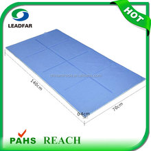 Best selling Summer foldable polymer PU gel Cooling large plastic floor mat