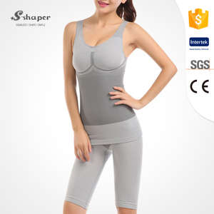 S-SHAPER 2019 Women Tourmaline Bamboo Seamless Slimming Body Shaper