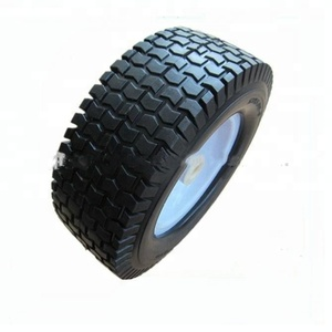 small rubber tyre lawn mower tires