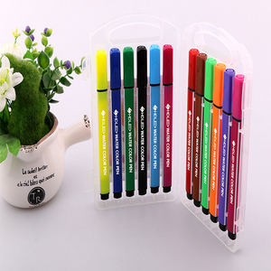 Promotional 12 colors top quality water color gel pens with custom logo