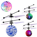 RC Toy EpochAir RC Flying Ball Drone Helicopter Ball Built in Shinning LED Lighting for Kids