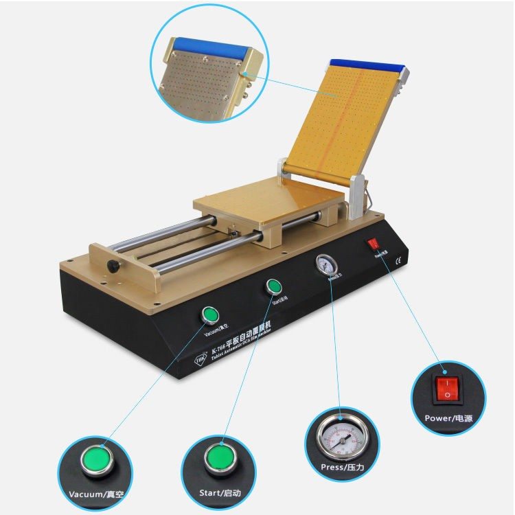 Semi-automatic OCA Laminating Machine for 12 inch LCD Screen Tablet