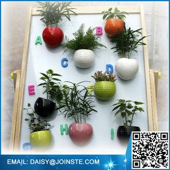 Flower Pot Magnetic Ceramic Magnetic Pot Magnetic Pot