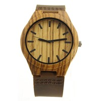 Waterproof Simple Bamboo Wristwatche For Men 2017 Cheap Wrist Brand Import Imported Wood China Watches For Men