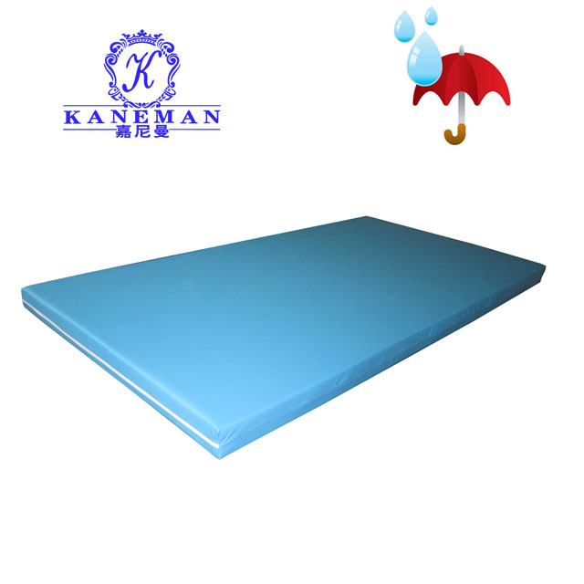 Fire retardant and Waterproof compressed and roll up hospital adjustable bed foam mattress