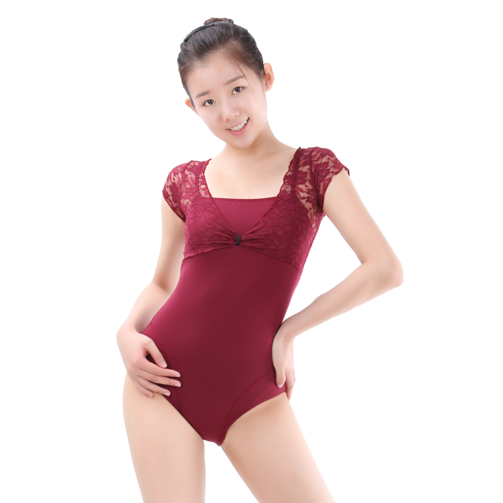3abca57bf9 Lace Performance Leotard
