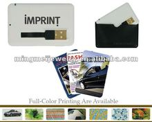 Corporate gift, optional colors ultra slim credit card usb