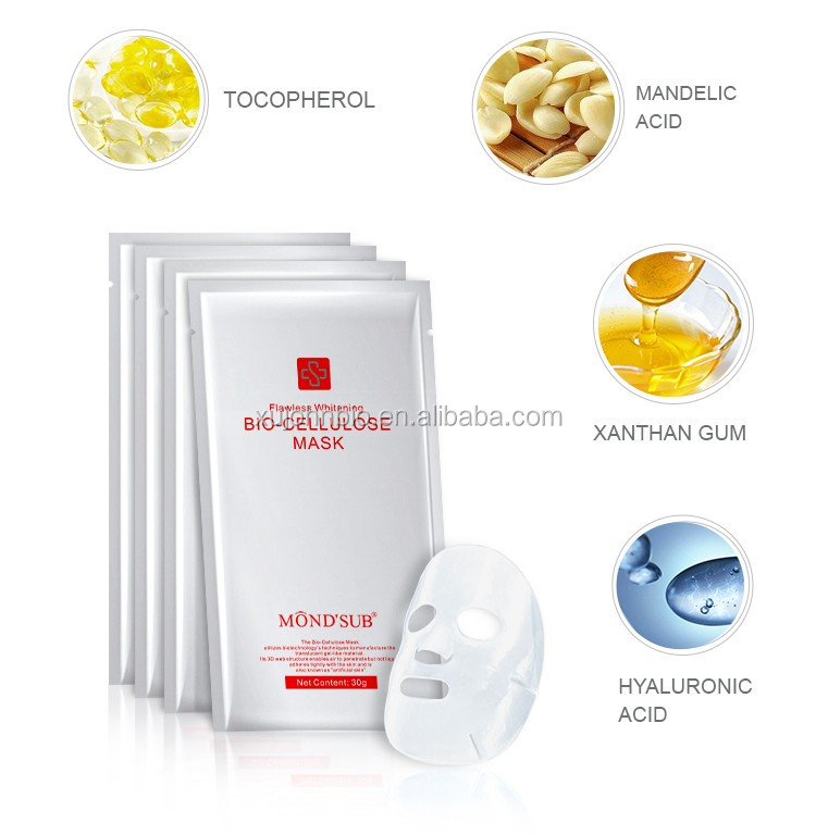 Mondsub Extreme Hydration Bio-cellulose Mask Like People Skin Appropriate