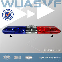 red blue halogen rotating light bars for ambulance police car and firefighting truck TBD-010112