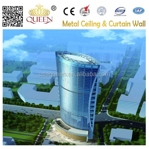 Aluminum Curtain Wall panel for project Mingyu Financial Plaza of Chengdu