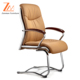 popular leather conference chair with wood arms for Visitor
