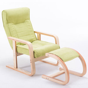 Wooden Recliner Tv Reclining Chair With Footrest