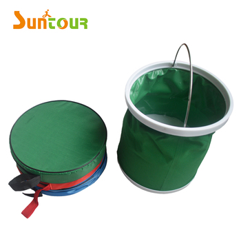 Collapsible Bucket Folding Pail Fishing Cleaning Bucket Car Wash Bucket